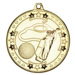 Golf Medal 50mm M76